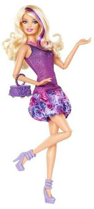 Barbie Fashionista Barbie Doll - Purple Dress