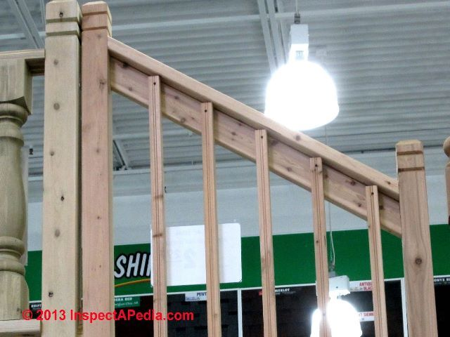 Best Railings Menards 180 Djfcs Jpg 640×480 Deck Stair 400 x 300