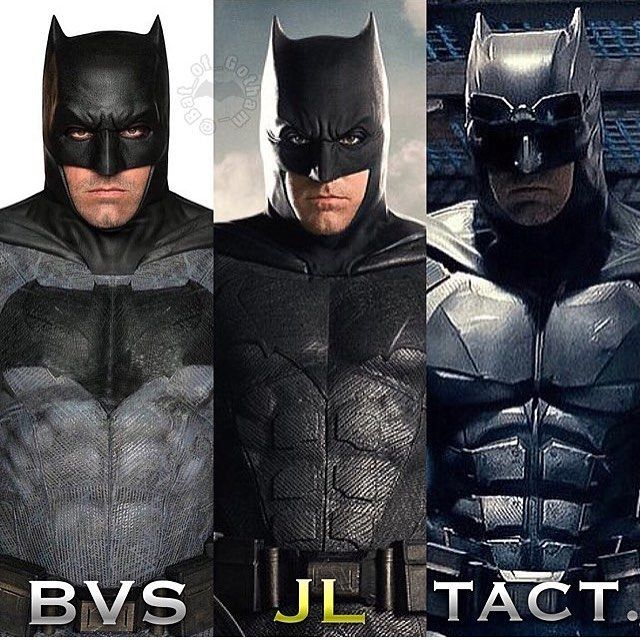 Which batfleck suite do you like best?  I love Tact. 😍 ——————————————— Follow us for more comic book posts! ——————————————— #MarvelComics #DC #Superheroes #Hero #Villain #Comics #Comicross #Batman #Spiderman #Ironman #TheFlash  #Avengers #JusticeLeague #comicbook #comic #comicbooks  #issues #releases #geek  #superman #batmanvsuperman #injusticegodsamongus #injustice #godsamongus #justiceleague #flash #aquaman #supergirl #fantasticfour