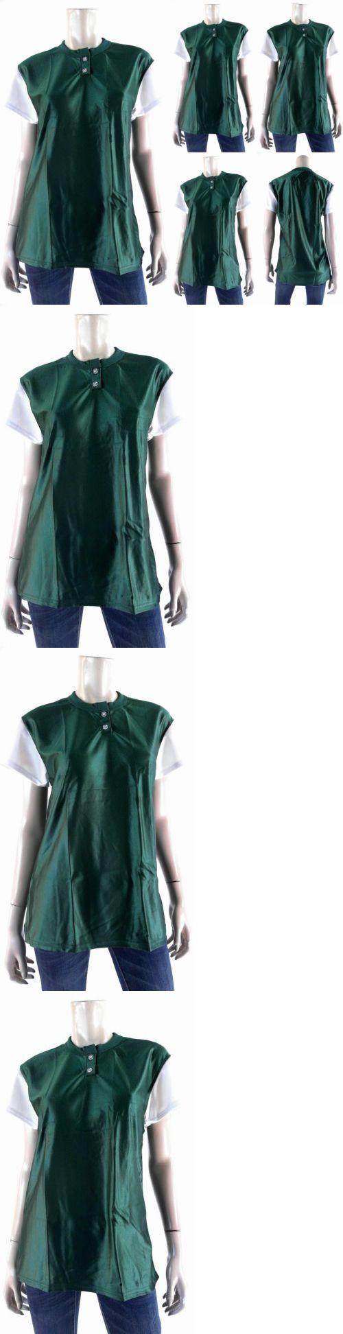 Baseball Shirts and Jerseys 181342: New Venus Unisex Baseball Softball Jersey Blank Top Sport Green Chop BUY IT NOW ONLY: $31.43