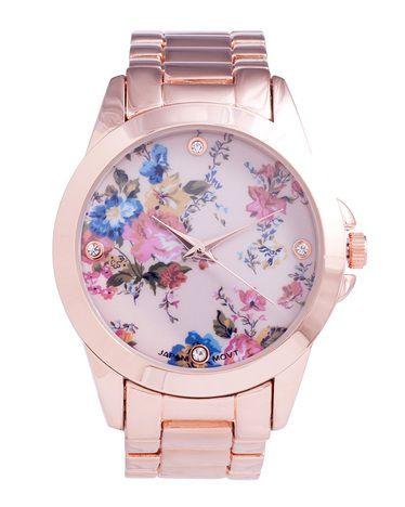 Belle Fleur Rose Gold Watch