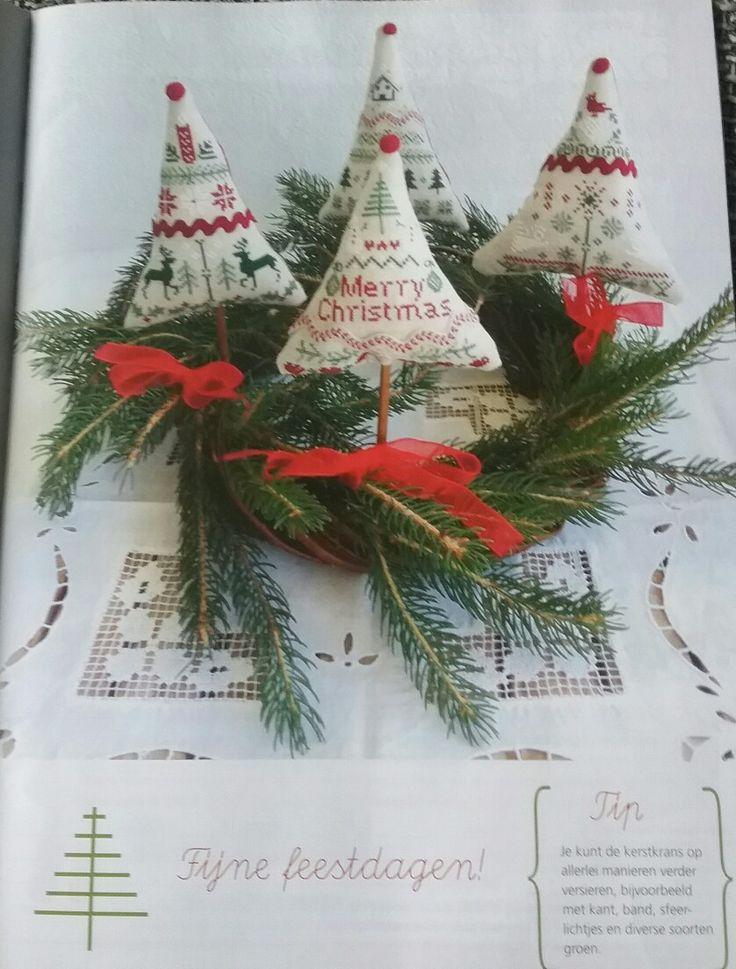 Kerstboomkrans - Loredana Briozzo