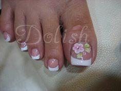 Resultado de imagen para decorado de uñas delos pies