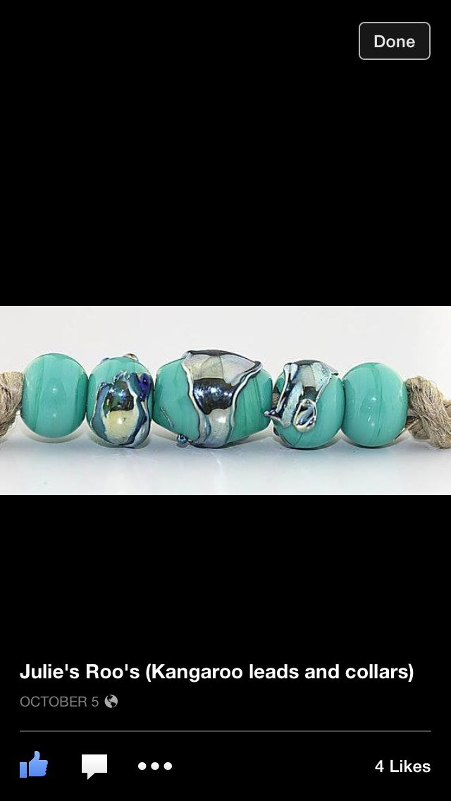 Teal and Silver Lead Beads