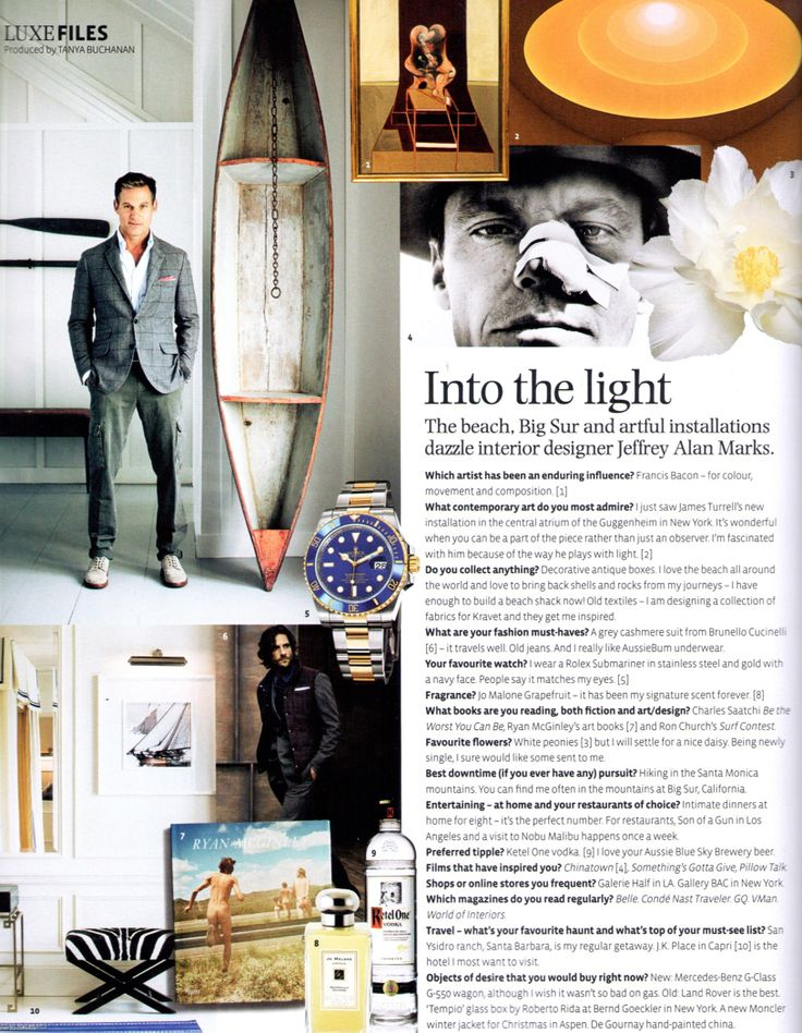 Into the Light with Jeffrey Alan Marks #bellemagazine #favoritethings #TheMeaningofHome #mdd #JAMapproved