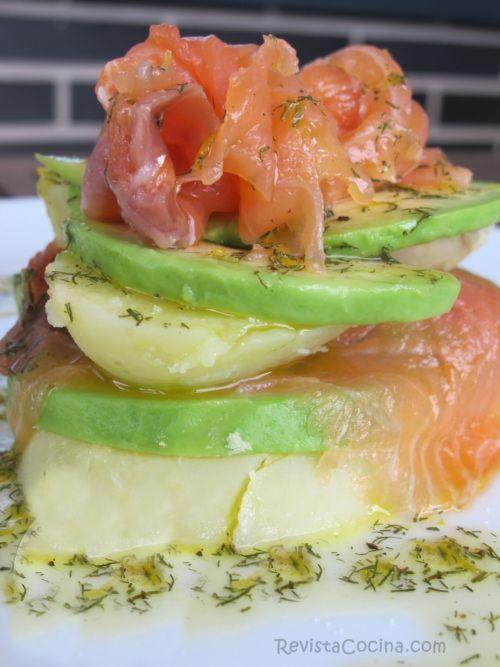 Canap s originales con salm n ahumado recipe salmon - Tapas con salmon ahumado ...