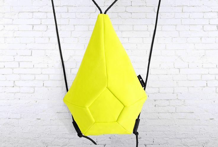 geometric backbag futuristic sport luxe