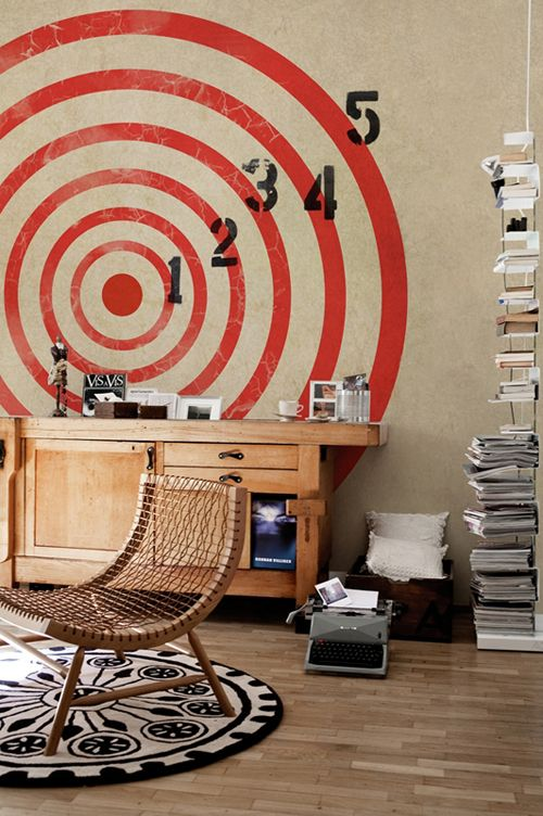 target - fun idea for an older boy's room
