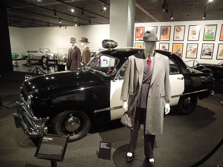 Sean Penn's Mickey Cohen costume from Gangster Squad on display...