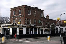 The Montague Arms, New Cross, London...My father grew up near here