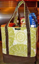 Make your own grocery bag tutorial