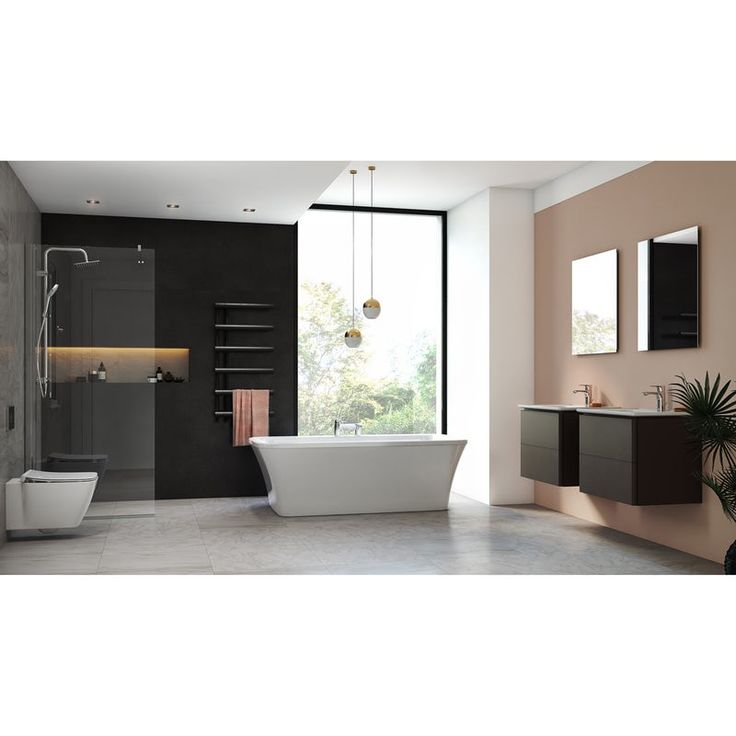 Ideal Standard Strada Ii Freestanding Bath Suite 1700 X 790 In 2020 Wall Hung Toilet Wall Hung Vanity Vanity Units