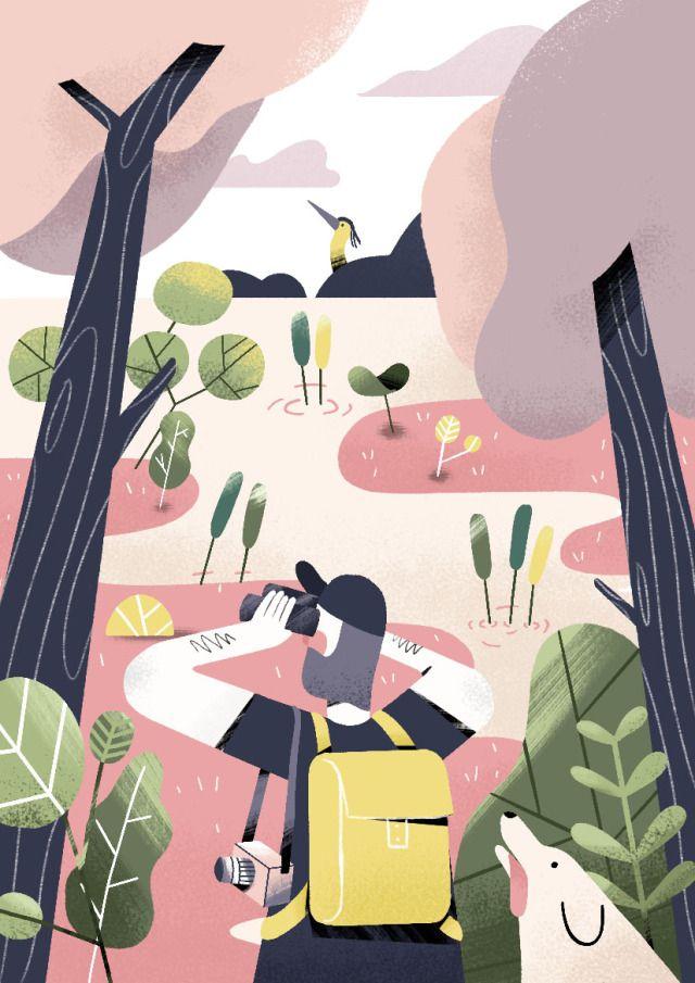 Norfolk Broads Illustration