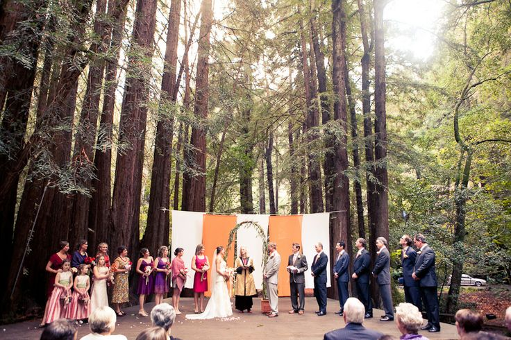 Mill Valley Library Wedding Amphitheater At Old Mill
