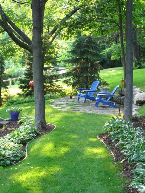 1597 best yard images on pinterest gardening backyard for Informal garden designs