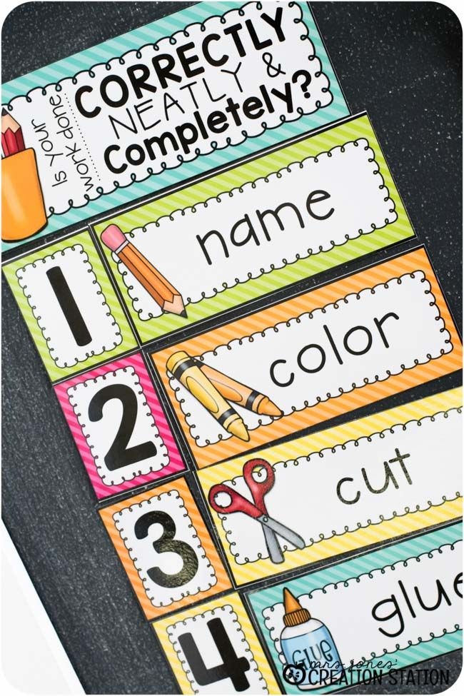 classroom management task 1 Classroom management: ten teacher-tested tips  each time the class gets out of hand or is off-task enough to be disruptive, put a big x through one of the letters .