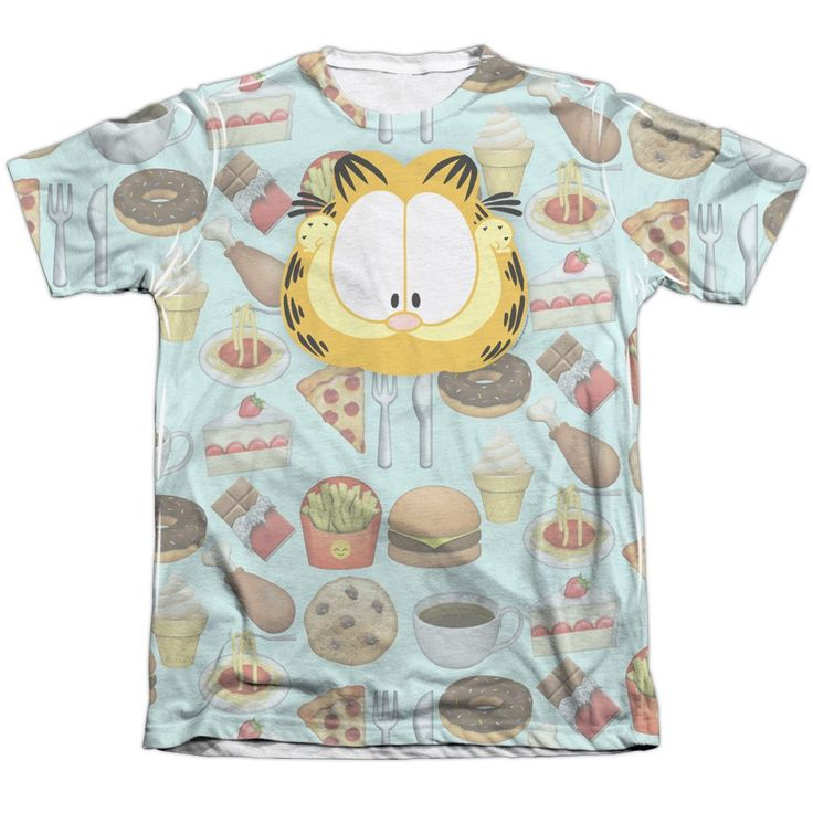 """Checkout our #LicensedGear products FREE SHIPPING + 10% OFF Coupon Code """"Official"""" Garfield/cat Food-adult Poly/cotton S/s T- Shirt - Garfield/cat Food-adult Poly/cotton S/s T- Shirt - Price: $24.99. Buy now at https://officiallylicensedgear.com/garfield-cat-food-adult-poly-cotton-s-s-t-shirt-licensed"""