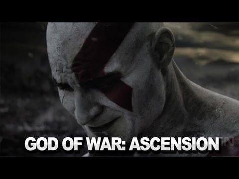 "I only noticed this commercial because it was playing one of my favorite Ellie Goulding songs ""Hanging On"". But a live action God of War video game trailer? I think it's just a little strange (especially with that song). Lol."