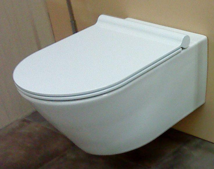 Wand-WC Tiefspüler mit verdeckter Befest. Catalano Zero inkl. WC Sitz soft close in Heimwerker, Bad & Küche, Badkeramik | eBay