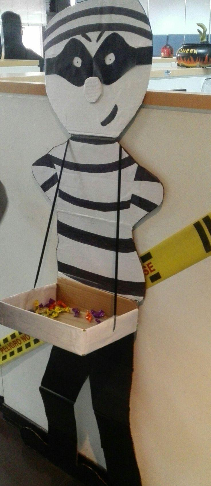 Halloween, preso, decoración, DIY, manualidades, recycle.