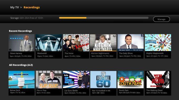 Sling TV internet TV service begins cloud DVR beta test