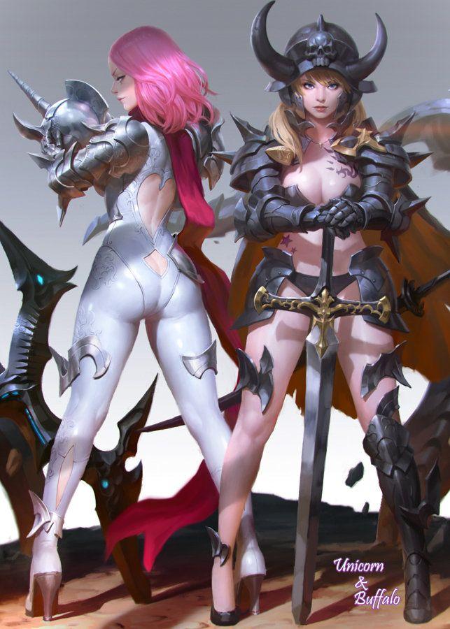 ArtStation - unicorn , KILART _