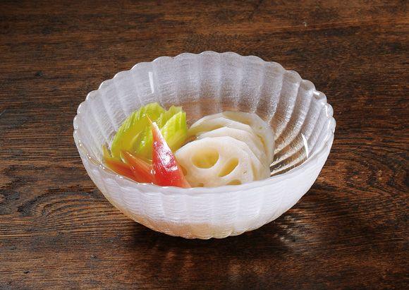 冨田ただすけさんの 「甘酢漬け盛り合わせ」 | 京都 たち吉 公式ホームページ