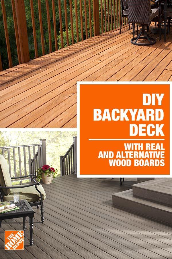 Build Your Deck Diy Exterior House Yard Backyard