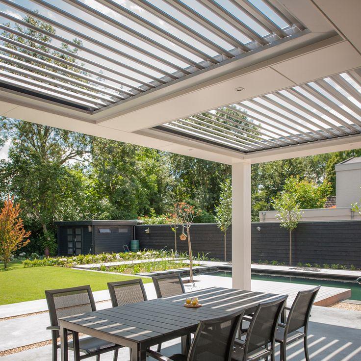 17 beste idee n over terrasoverkapping op pinterest overdekte dekken dek bedekt en achtertuin for Overdekt terras model