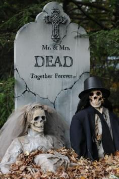 HALLOWEEN DECORATIONS / IDEAS & INSPIRATIONS: Halloween en plein air Décorations - CotCozy