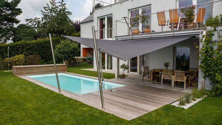 dieser pool mit angrenzender holzterrasse wurde mit einer soliday cs anlage ausgestattet welche. Black Bedroom Furniture Sets. Home Design Ideas