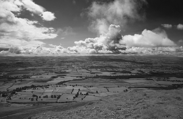 View over Appleby from Murton Fell - Murton Cumbria - May 2011 - Lewis Ryan Photographer