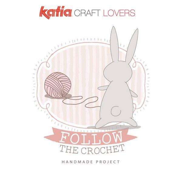 Craft Lovers ♥ Alfombra Oso hecha a ganchillo con Katia Big Ribbon por Follow the Crochet   http://www.katia.com/blog/es/alfombra-oso-ganchillo/