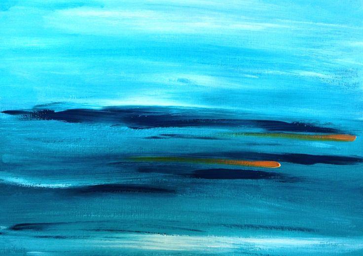 Ocean Blue (II) SOLD
