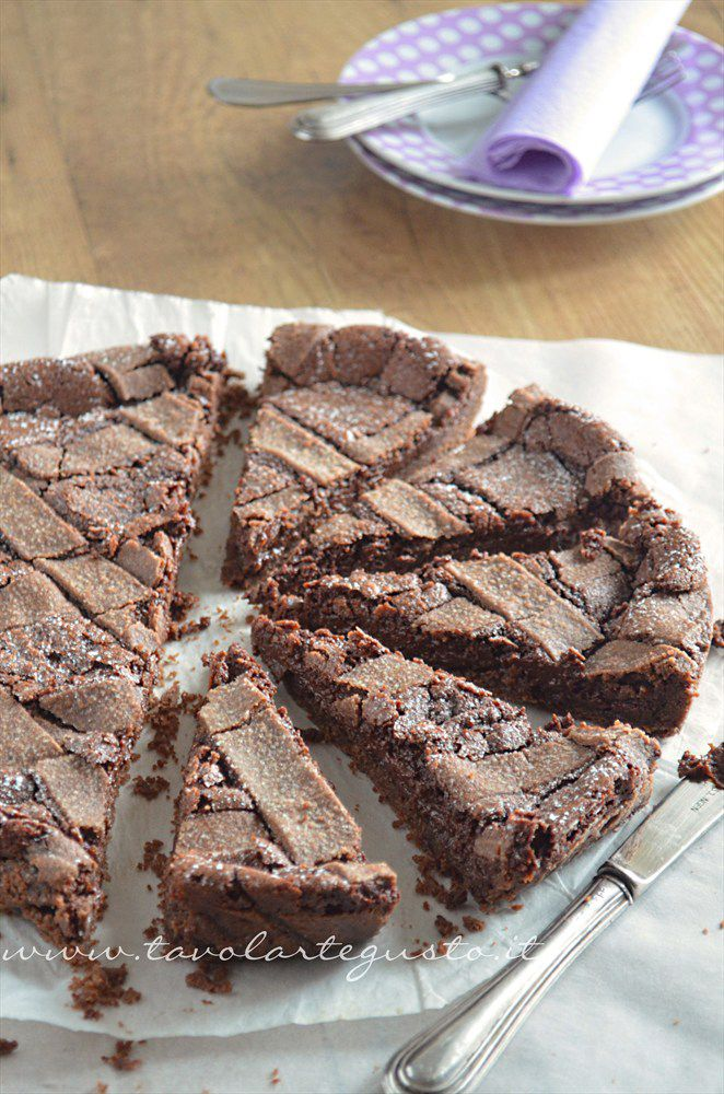 Crostata morbida al cioccolato - Ricetta