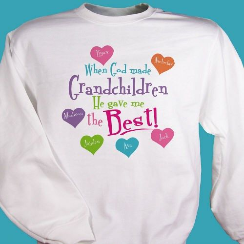 84 best Personalized Grandma T Shirts images on Pinterest ...