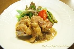 鶏肉のソテー、シナモン香るいちじくブランデーのソース レシピブログ  http://www.recipe-blog.jp/profile/15212/blog/12670840