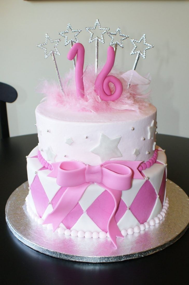 Sweet 16 cake – stuff