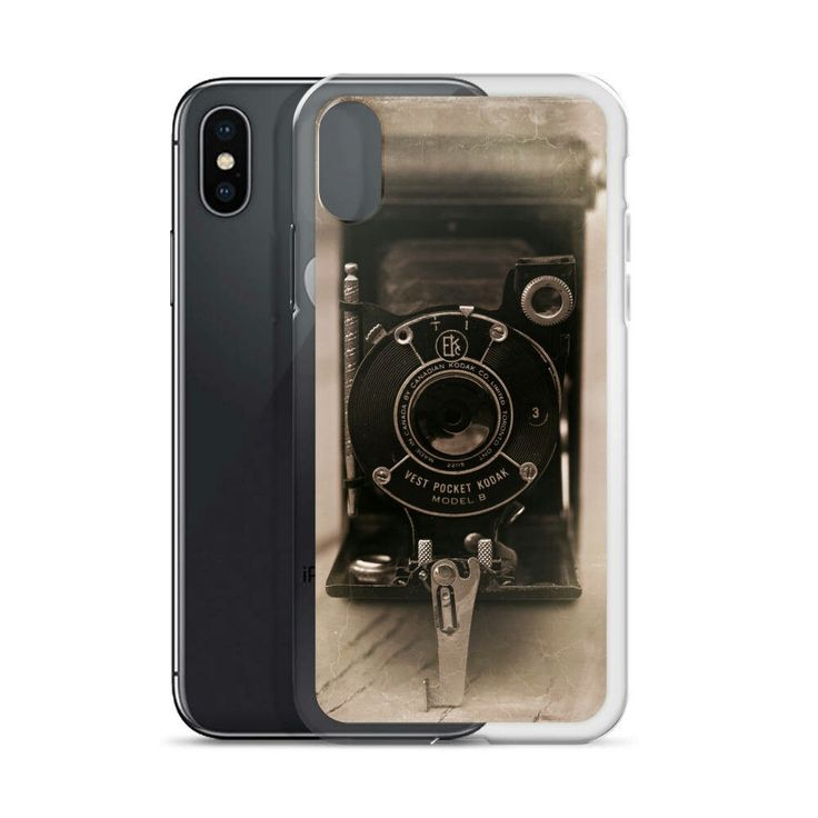 Vintage Camera iPhone Case, Kodak Phone Case, Steampunk iPhone 7 Case, Kodak Vest Pocket #ishootfilm #filmcameras http://etsy.me/2zeE92w