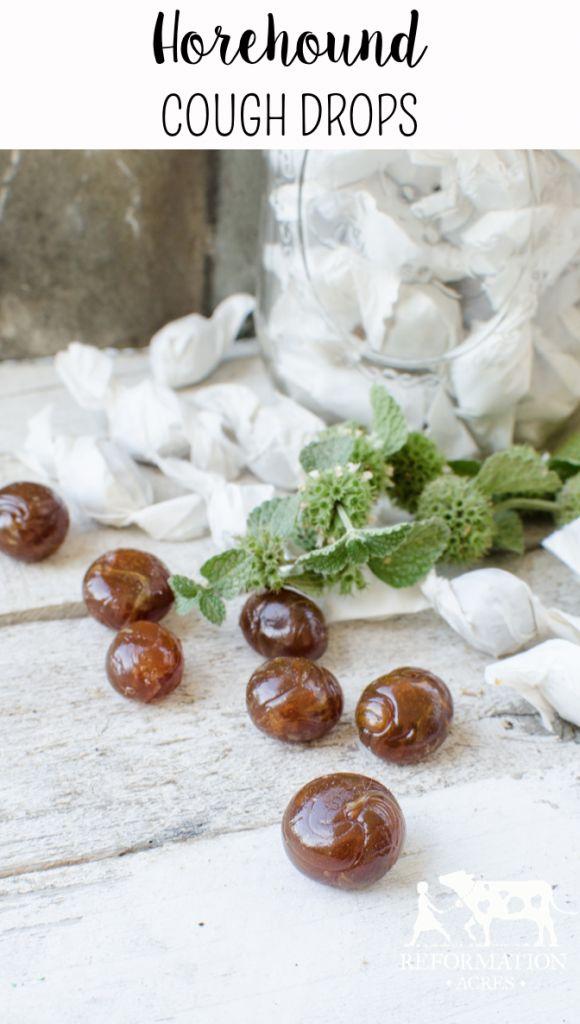 Homemade Medicine Made Simple: Horehound Cough Drops