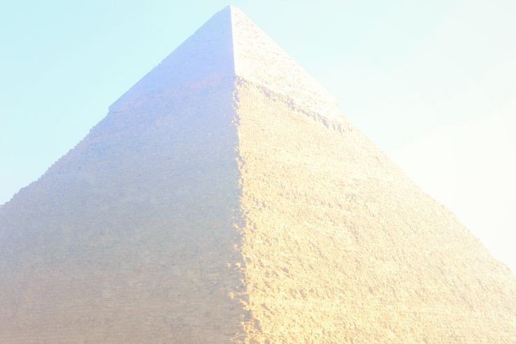 #Pyramids #Cheops #Egypt #travel  The mighty and mystical pyramid of Cheops - Egypt! A treasure of history.