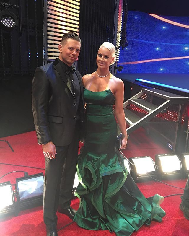 WWE Superstar The Miz (Mike Mizanin) and his wife Maryse Ouellet Mizanin at the…