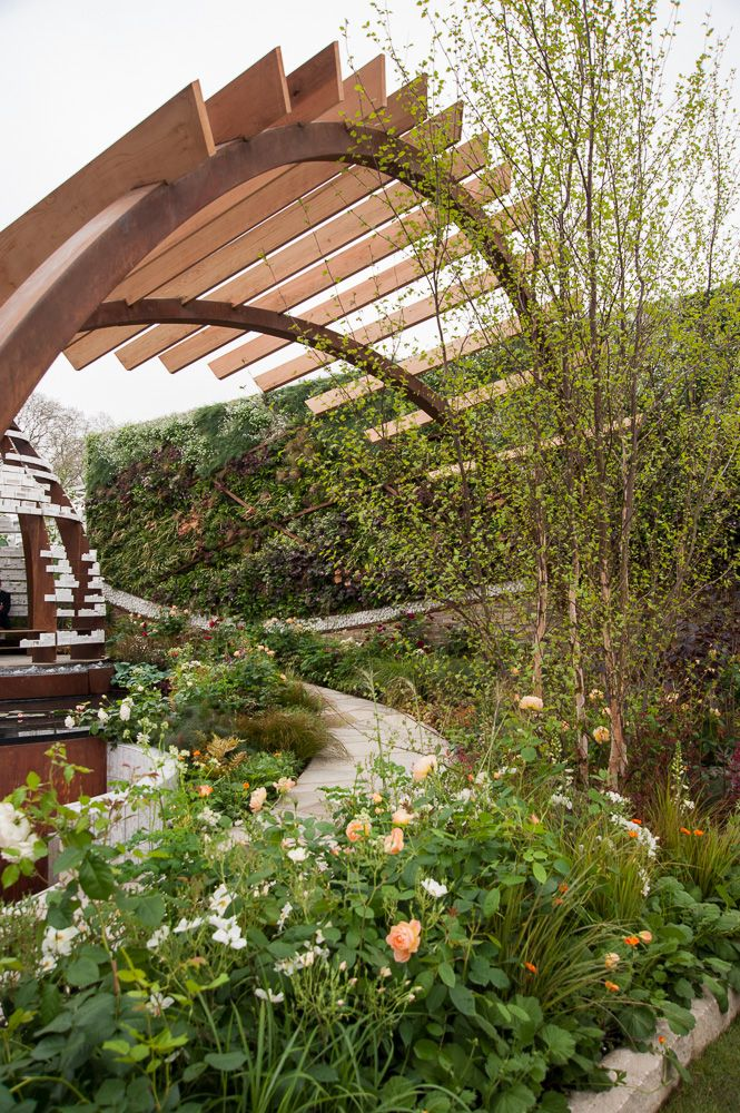 transformation garden rhs chelsea flower show 2013  click to read article and to see plants list
