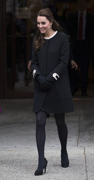 8 Dec 2014:  The Duchess of Cambridge greets guests at Northside Center for Child Development in New York City.