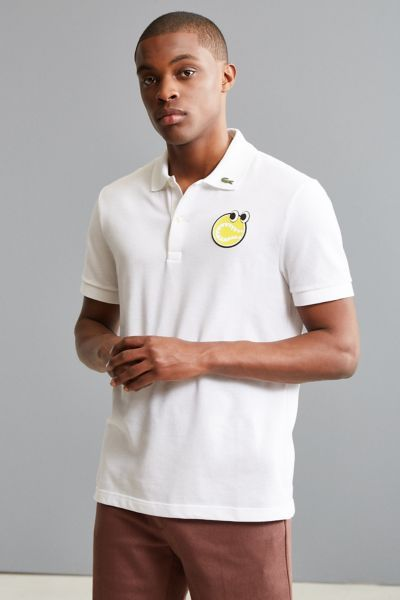 Lacoste X Yazbukey Pique Polo Shirt   Urban Outfitters