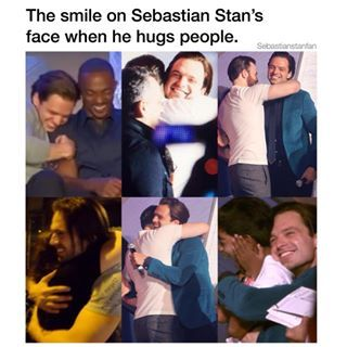 I want and need a Sebastian Stan hug!!! <<<<<Happy Birthday to Sebastian Stan, the most amazing person on the planet!! <3 <3