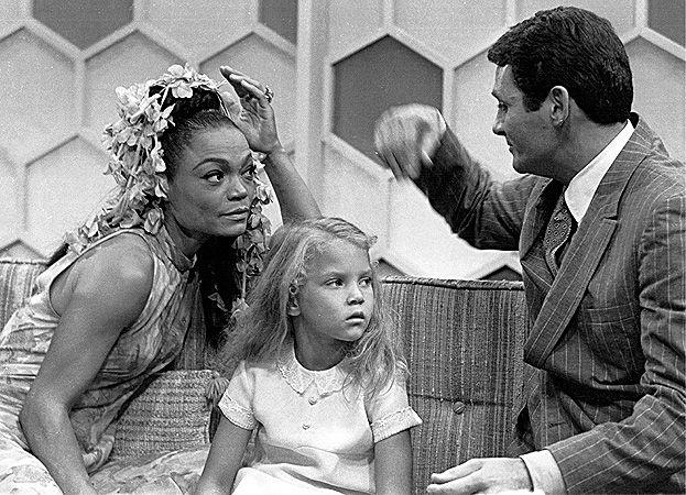Eartha Kitt Daughter Looks White   Eartha Kitt's daughter Kitt McDonald begins to get antsy during the ...