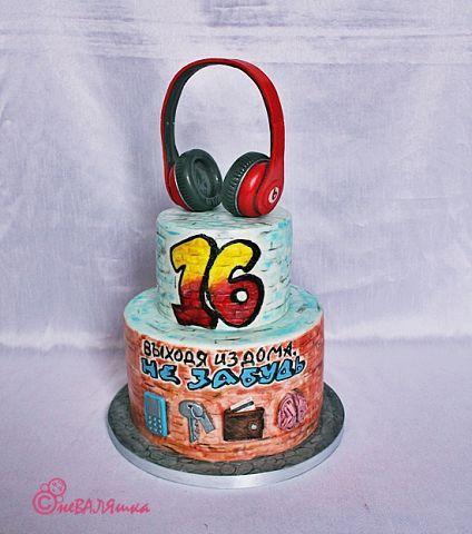 торт для юноши 16 лет
