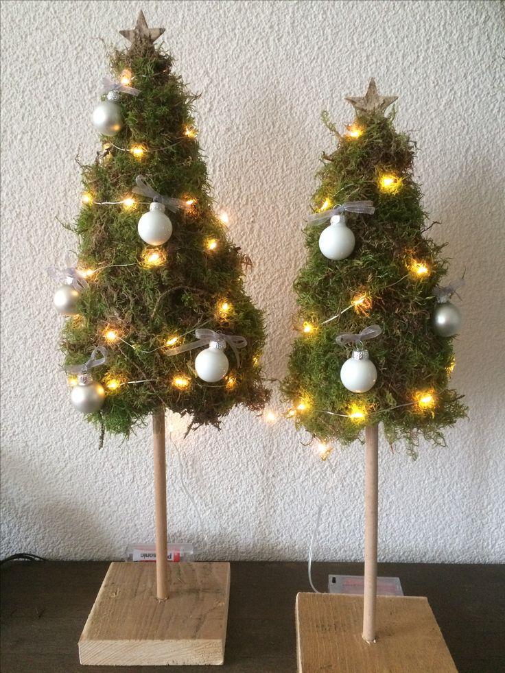 kerstboompjes 47 best kerststukjes maken images on