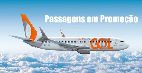 Feirão GOL 2017 de voos nacionais #gol #voos #viagens #promoção #ofertas #passagens #2017